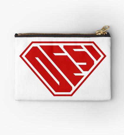 Desi SuperEmpowered (Red) Zipper Pouch