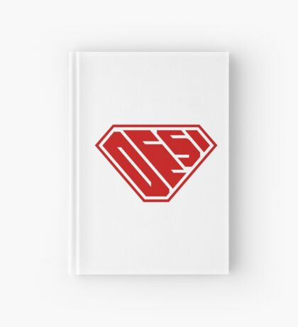 Desi SuperEmpowered (Red) Hardcover Journal
