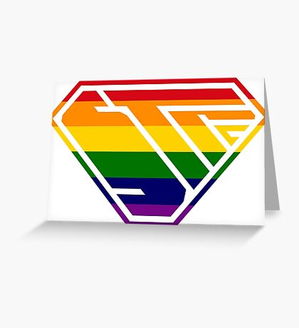 STPC SuperEmpowered (Rainbow) Greeting Card