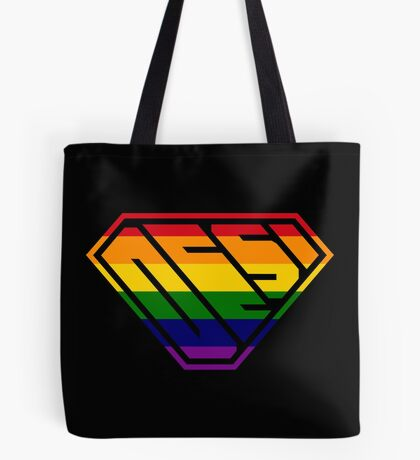 Desi SuperEmpowered (Rainbow) Tote Bag