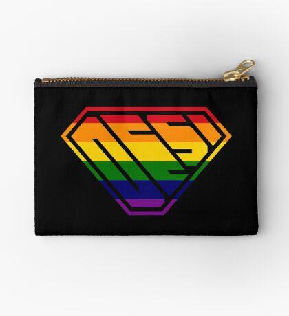 Desi SuperEmpowered (Rainbow) Zipper Pouch