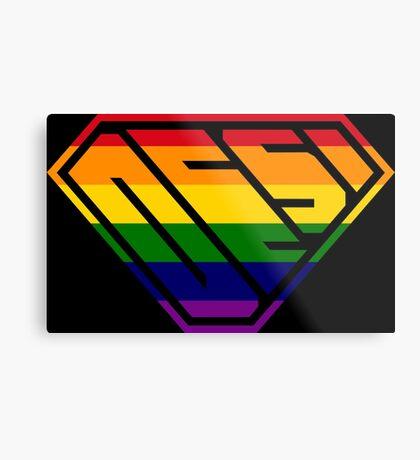 Desi SuperEmpowered (Rainbow) Metal Print