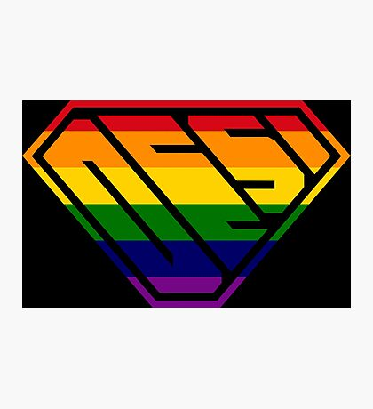 Desi SuperEmpowered (Rainbow) Photographic Print