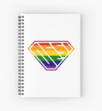 Desi SuperEmpowered (Rainbow) Spiral Notebook