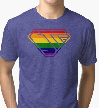 STPC SuperEmpowered (Rainbow) Tri-blend T-Shirt