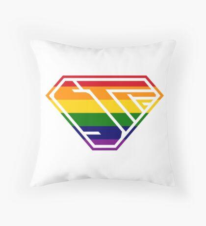 STPC SuperEmpowered (Rainbow) Throw Pillow