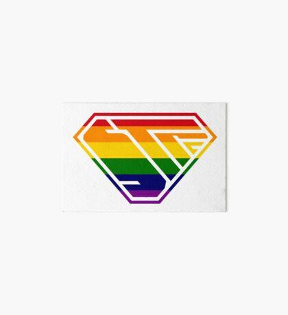 STPC SuperEmpowered (Rainbow) Art Board Print