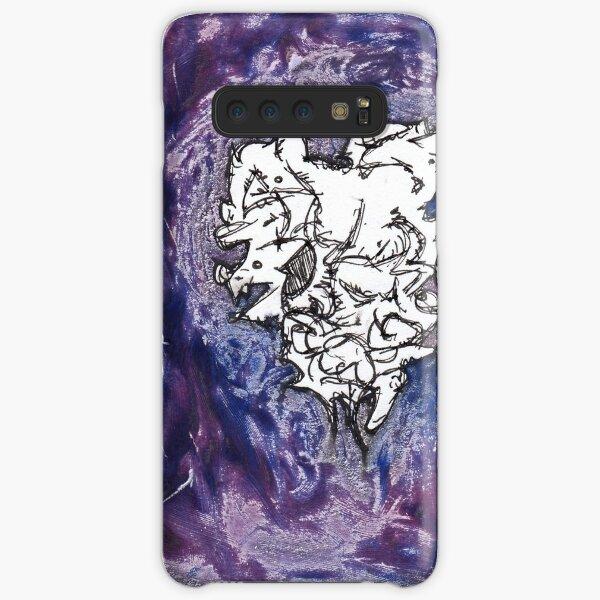laVs2 - a dark lavendar purple abstract Samsung Galaxy Snap Case
