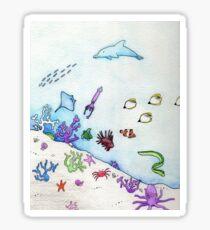 Sealife Sticker