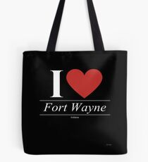 I Love  Fort Wayne - Gift for Proud Hoosier From  Fort Wayne Indiana IN  Tote Bag