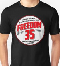 Freedom 35 // TPB // GB Brewing Unisex T-Shirt
