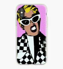Invasion of Privacy pop art iPhone Case