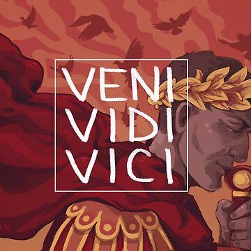 Veni Vidi Vici by flaroh