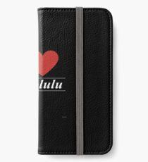 I Love  Honolulu - Gift for Proud Hawaiian From  Honolulu Hawaii HI  iPhone Wallet/Case/Skin
