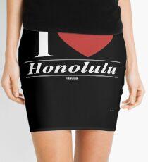 I Love  Honolulu - Gift for Proud Hawaiian From  Honolulu Hawaii HI  Mini Skirt