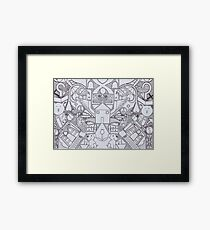 Who Let The Dogs Out? Framed Print