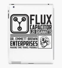Doc Brown Enterprises Flux Capacitor  iPad Case/Skin