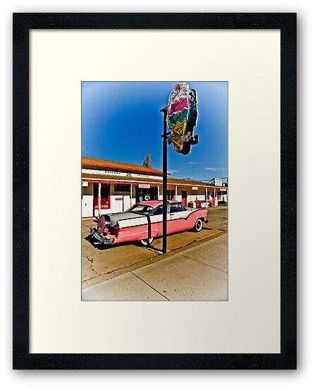 Route 66 Williams Arizona Cruisers Welcome by photosbyflood