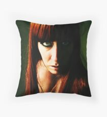Blue in Green, no. 3 Throw Pillow
