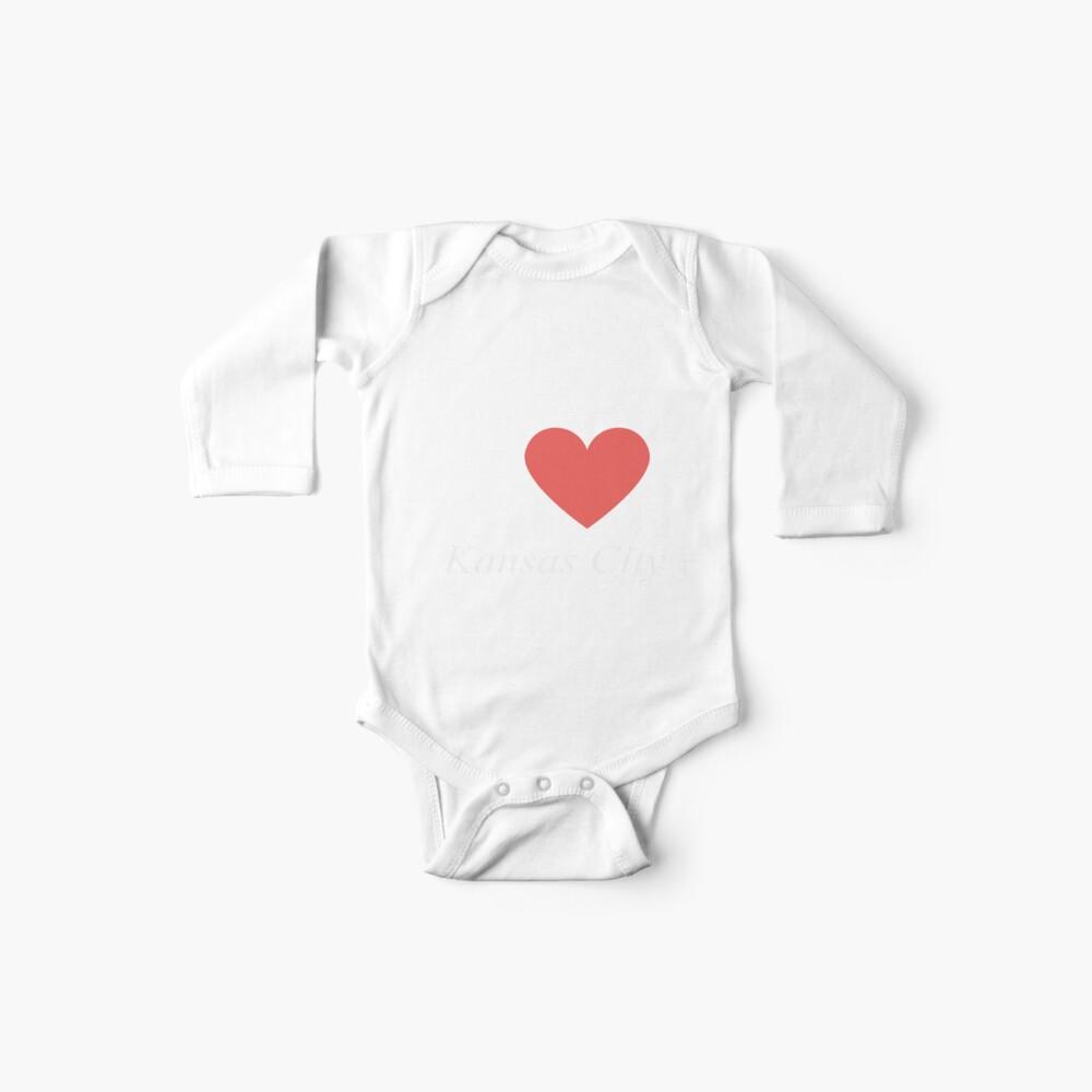 Ich liebe Kansas City - Geschenk für stolzes Missourian von Kansas City Missouri MO Baby Bodys