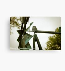 Close-Up Mill Canvas Print