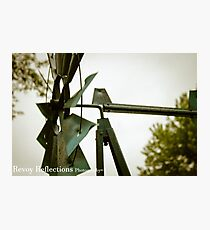Close-Up Mill Photographic Print