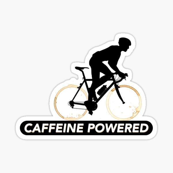Caffeine powered Sticker