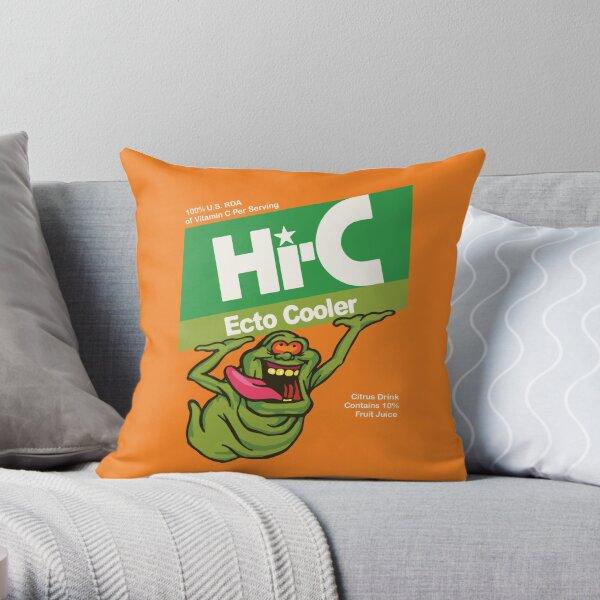 Ecto Cooler  Throw Pillow