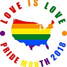 USA Pride Month 2018 by EthosWear