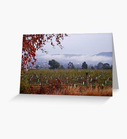 Darley in the fog Greeting Card