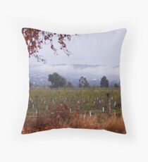 Darley in the fog Throw Pillow