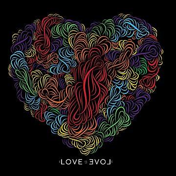 MBJR | LOVE IS LOVE by jroche