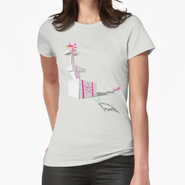 That's the tower of love! Fitted T-Shirt