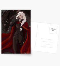 Manon Blackbeak and Abraxos Postcards