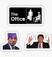 the office micheal scott Sticker