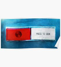 press to cook Poster