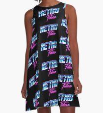 Retro Future A-Line Dress