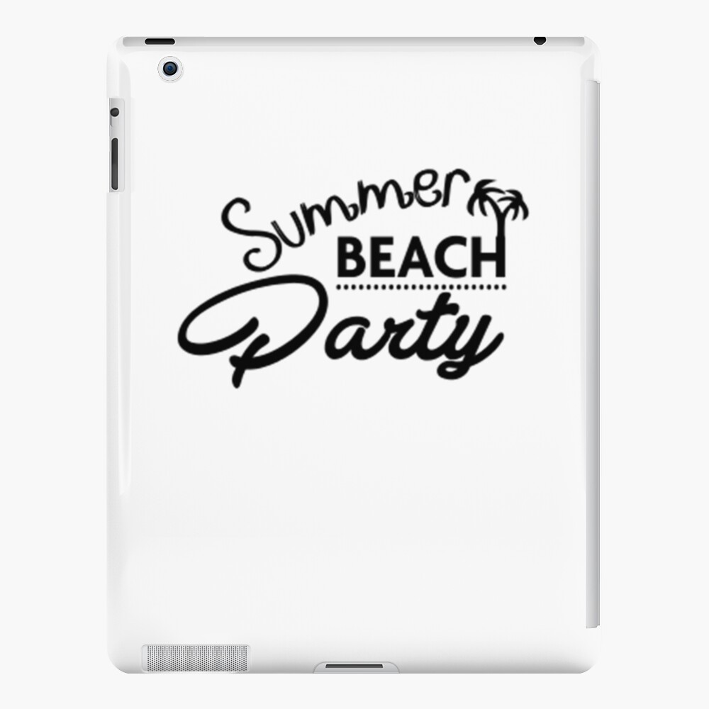 Summer Beach Party iPad-Hülle & Skin