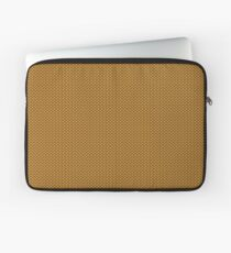 Gold Knitted Pattern ) Laptop Sleeve