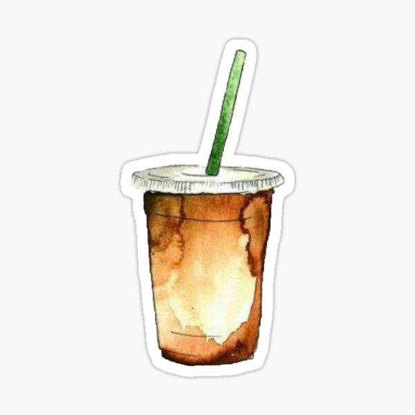 Eiskaffee Sticker