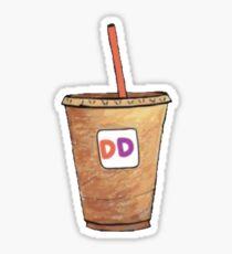 Pegatina Café helado Dunkin