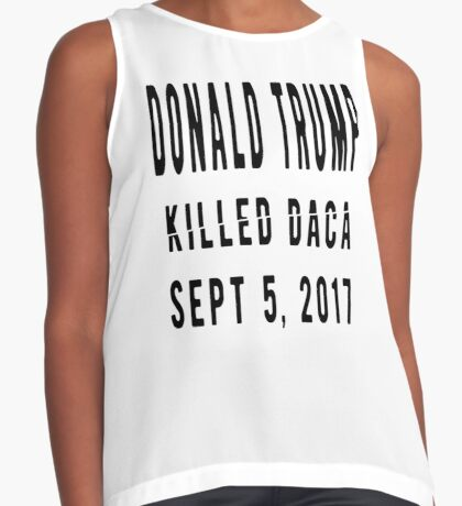 Trump Killed DACA Contrast Tank