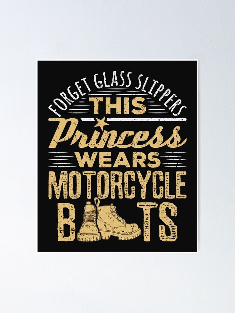 Hippowarehouse Forget The Glass Slippers This Princess Wears Motorcycle Boots Motorbike Biker Baby Vest Bodysuit Short Sleeve Boys Girls