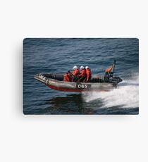 Fast Rescue Craft Canvas Print