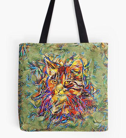 Ninja Cat. Deep Neural Networks #Art Tote Bag