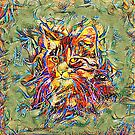 Ninja Cat. Deep Neural Networks #Art by blackhalt