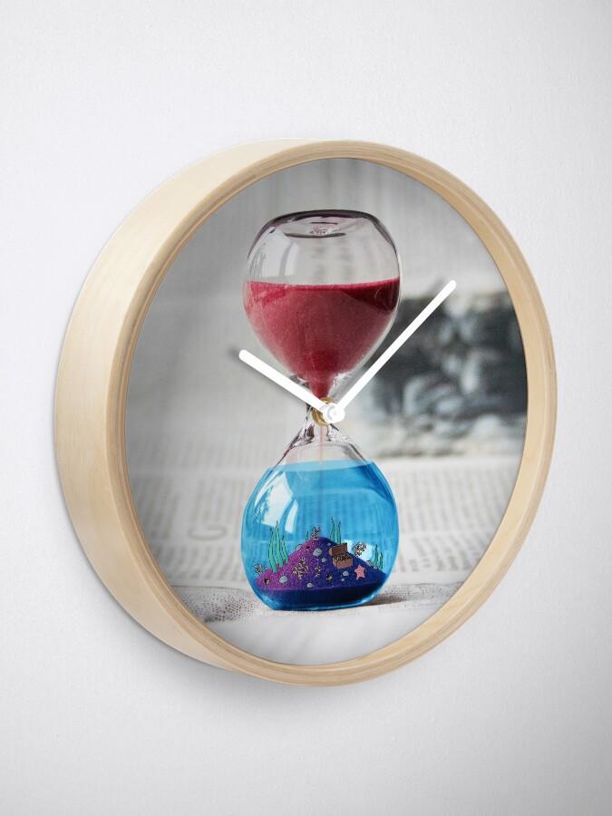 Alternate view of Hourglass Clock