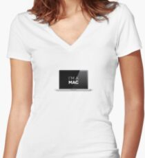That's right - I'm a MAC Women's Fitted V-Neck T-Shirt