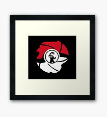 Catch ball Framed Print