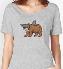 Bear-shark, bear & shark Women's Relaxed Fit T-Shirt